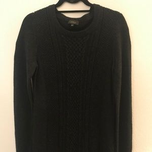 Wool Babaton Sweater Dress, Size M